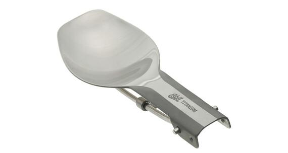 Esbit titanium bestek TI Campingservies en keukenuitrusting klapbaar grijs